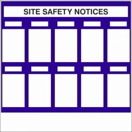 Site Safety Notices