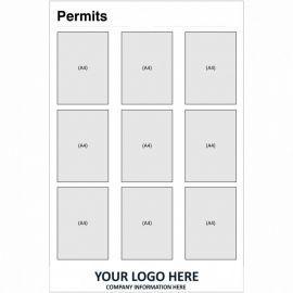 Permits Notice Board (Portrait)