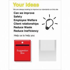 Your Ideas Notice Board