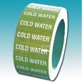 Pipe Marking Tape (Cold Water)