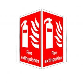 Fire Extinguisher Projecting Sign