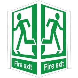 Fire Exit Project Sign