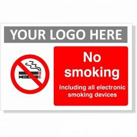 No Smoking Including All Electronic Smoking Devices Sign