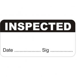 Inspected Test and Measure Labels