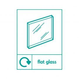 Flat Glass Sign