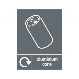Aluminium Cans Sign