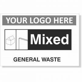 Hardcore Waste Sign