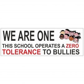 We Are One School Banner
