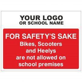 Safety's Sake School Sign - Composite Board