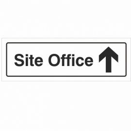 Site Office Arrow Up Sign