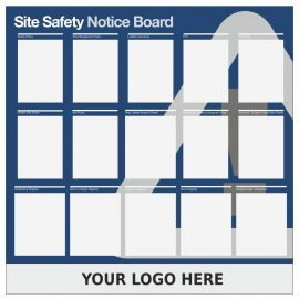 Custom Site Safety Notice Board Sign 1200mm x 1200mm