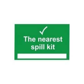 The Nearest Spill Kit First Aid SIgn