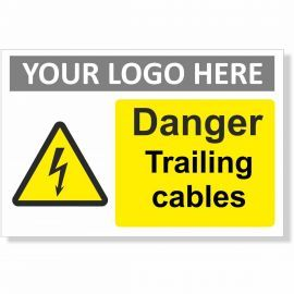 Danger Trailing Cables Sign