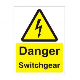 Danger Switchgear Safety Sign