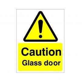 Danger Glass Sign Or Sticker