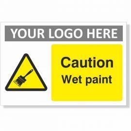 Caution Wet Paint Sign