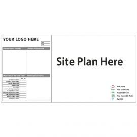 Custom Site Plan Sign 2400mm x 1200mm