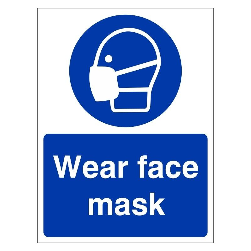 PPE Signs for Infection Prevention