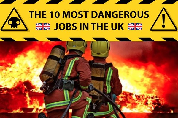 The 10 Most Dangerous Jobs in the UK
