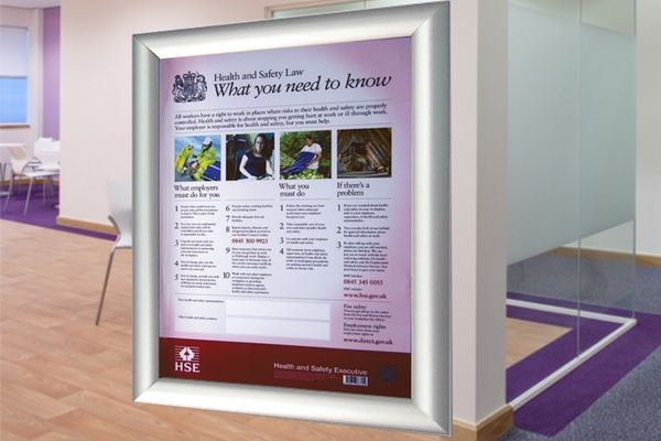 What is a Health and Safety Law poster, and do I need one?