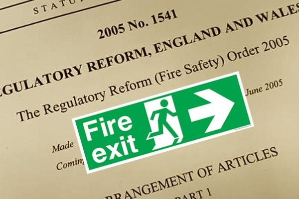 Fire Exit Signs Laws And Legislation In The UK