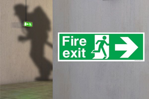 The Importance Of Fire Exit Safety Signs
