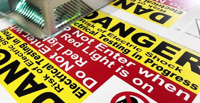 Custom Sign Printing Quote