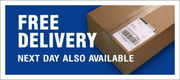 Free Delivery & Next Day available
